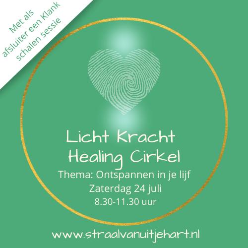 Licht kracht healing cirkel
