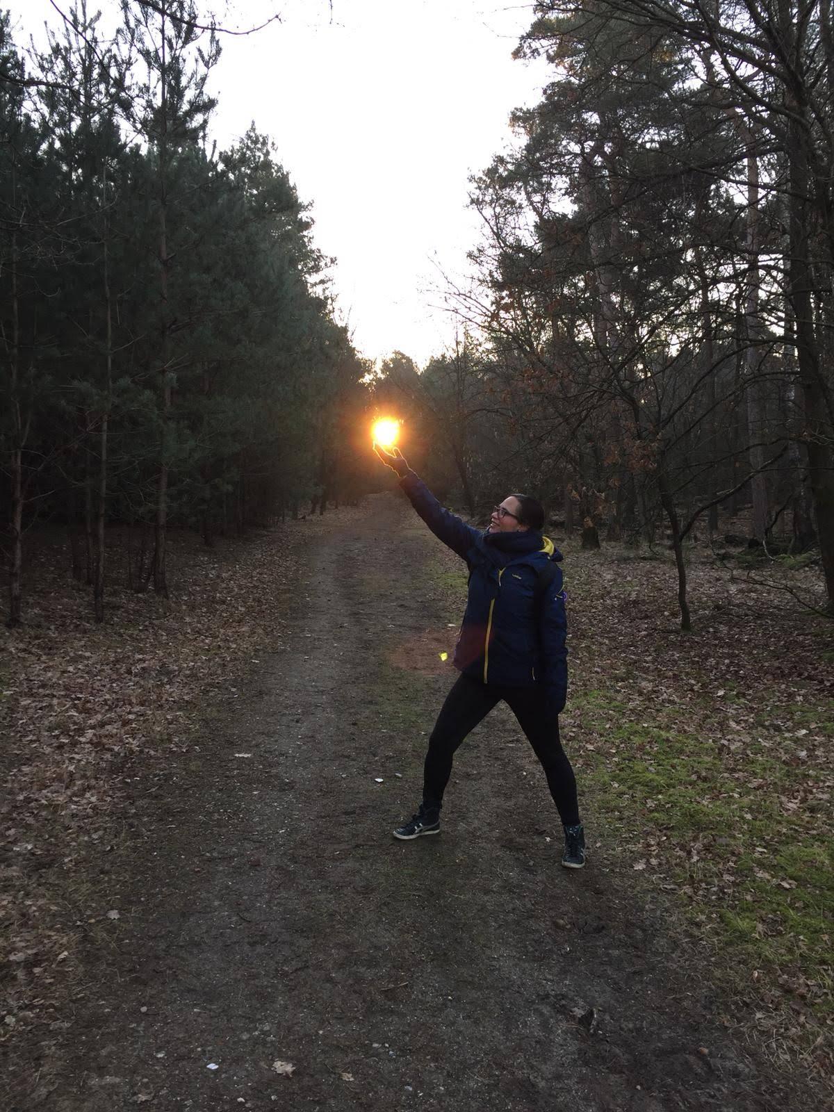 Sunrise Licht Kracht sessie