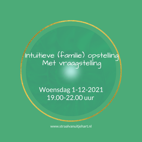 intuitieve (familie) opstelling in groep